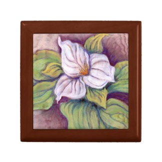 SPRING'S TRILLIUM by CR SINCLAIR Jewelry Box