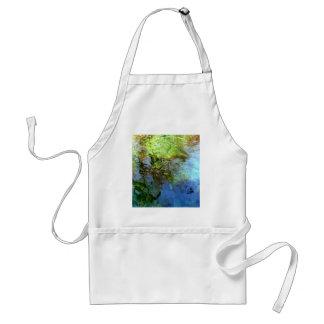 springs water by shanta adult apron
