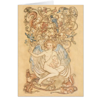 Springtide of Life Angel Card