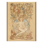 Springtide of Life Angel Posters