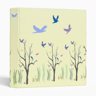 Springtime 3 Ring Binder