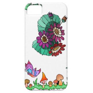 Springtime and flowers, Deep purple iPhone SE/5/5s Case
