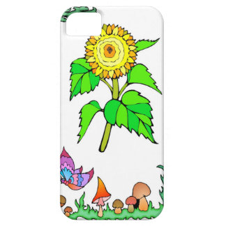Springtime and flowers, Golden sunflower iPhone SE/5/5s Case