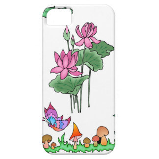 Springtime and flowers, London pride iPhone SE/5/5s Case