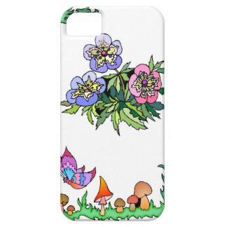 Springtime and flowers, pastel pansies iPhone SE/5/5s case