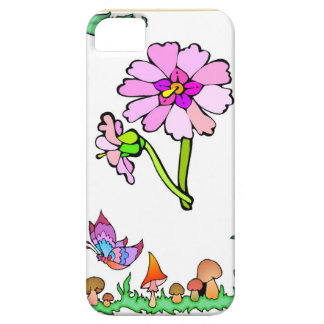 Springtime and flowers, Purple and pink iPhone SE/5/5s Case