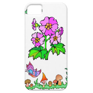 Springtime and flowers, Purple flowers iPhone SE/5/5s Case