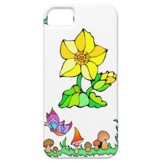 Springtime and flowers, Yellow star iPhone SE/5/5s Case