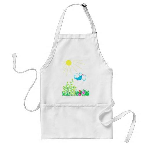 springtime apron