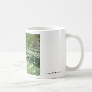Springtime at  Arlington National Cemetery Classic White Coffee Mug