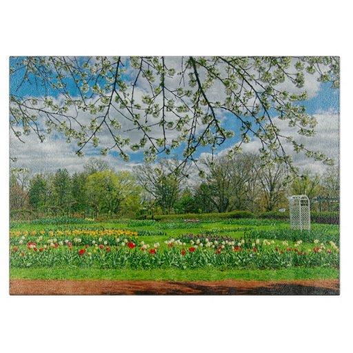 Springtime at Elizabeth Park Cutting Boards