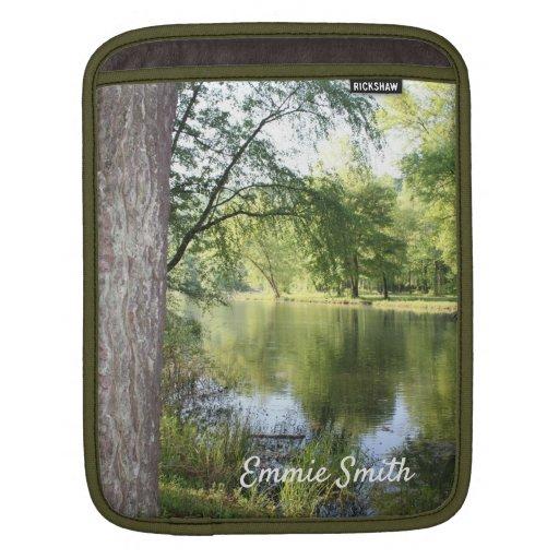 """Springtime at the Lake"" Dayton, Tennessee Sleeve"
