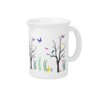 Springtime Beverage Pitcher