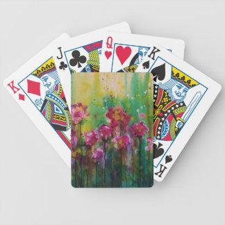 Springtime Bicycle Playing Cards
