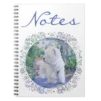 Springtime Bower Spiral Notebook