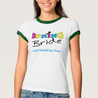 Springtime Bride T-shirt