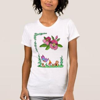 Springtime, butterflies and  blossom t shirt