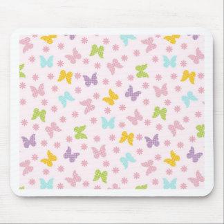 Springtime Butterflies Mouse Pad