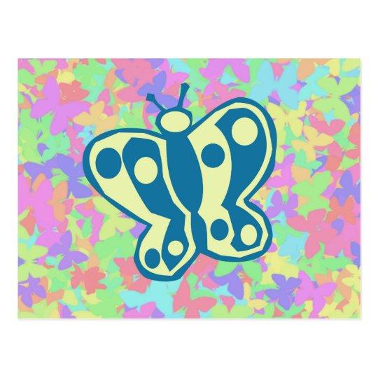 Springtime Butterflies Postcard