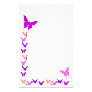 Springtime Butterflies Stationery
