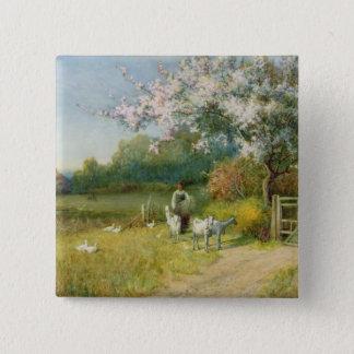 Springtime Button