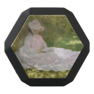 Springtime by Claude Monet Black Bluetooth Speaker