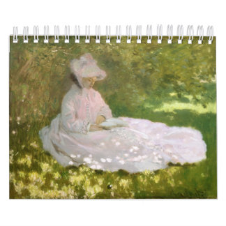 Springtime by Claude Monet Calendar