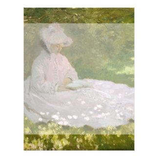 Springtime by Claude Monet Flyer