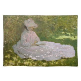 Springtime by Claude Monet Place Mat