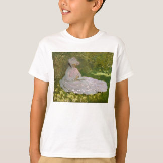 Springtime by Claude Monet T-Shirt