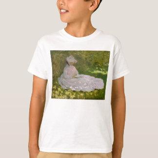 Springtime by Claude Monet T-Shirt