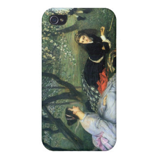 Springtime by James Tissot iPhone 4 Covers