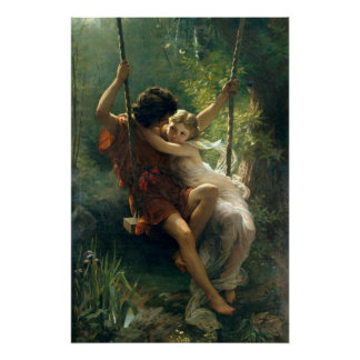 Springtime by Pierre Auguste Cot Poster