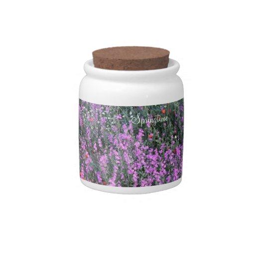 Springtime Candy Jar