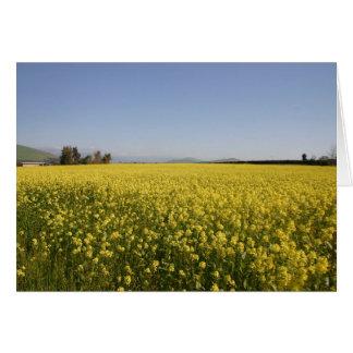 Springtime Carpet - Blank Greeting Card