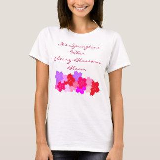Springtime Cherry Blossoms T-Shirt