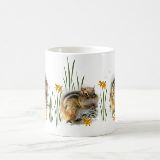 Springtime Chipmunk Coffee Mug