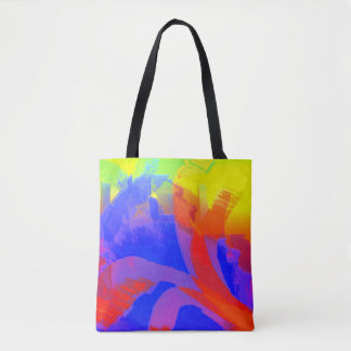 Springtime City Tote Bag