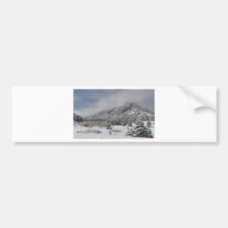 Springtime Colorado Rocky Mountains Boulder Bumper Sticker
