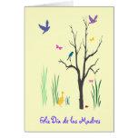 Springtime Dia de las Madres Tarjetas