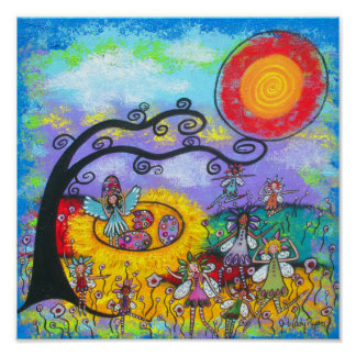 Springtime Fairies Print