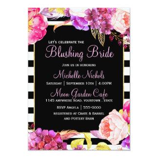 Springtime Floral Bouquet Bridal Shower Card