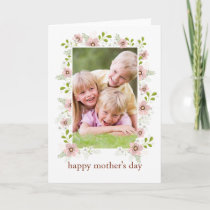 Springtime Floral Happy Mother's Day Card