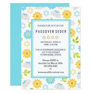 Springtime Floral  Passover Sedar Invitations