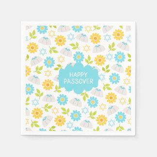 Springtime Floral  Passover Sedar Napkin
