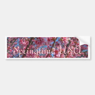 Springtime Flowering Trees CricketDiane Collection Car Bumper Sticker