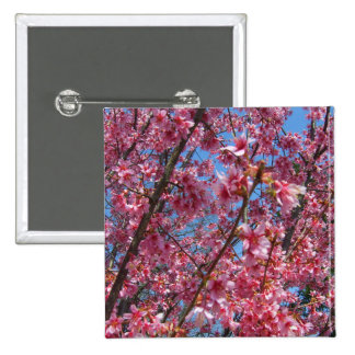 Springtime Flowering Trees CricketDiane Collection Pinback Button