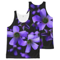 Springtime Flowers All-Over-Print Tank Top