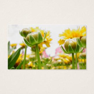 Springtime Flowers in Bloom Business Card