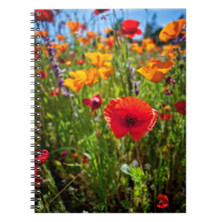 Springtime Flowers Notebook
